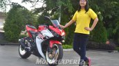 Yamaha R25 modified in Indonesia