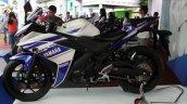 Yamaha R25 showcased in Vietnam side