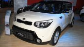 2014 Kia Soul front three quarter at the 2014 Nepal Auto Show