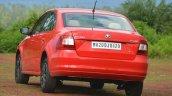 2014 Skoda Rapid 1.5 TDI DSG rear