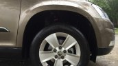2014 Skoda Yeti alloy wheel review