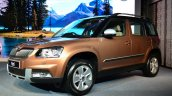 2014 Skoda Yeti facelift launch front quarter