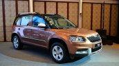 2014 Skoda Yeti facelift launch front quarters