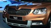 2014 Skoda Yeti facelift launch gascia