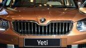 2014 Skoda Yeti facelift launch grille