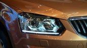 2014 Skoda Yeti facelift launch headlight