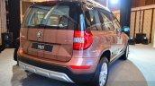 2014 Skoda Yeti facelift launch rear quarter