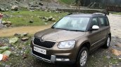 2014 Skoda Yeti front three quarters review