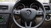 2014 Skoda Yeti steering wheel review