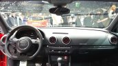 2015 Audi RS3 Sportback dashboard at the 2015 Geneva Motor Show