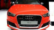 2015 Audi RS3 Sportback front at the 2015 Geneva Motor Show
