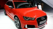 2015 Audi RS3 Sportback front three quarters left at the 2015 Geneva Motor Show