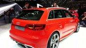 2015 Audi RS3 Sportback rear three quarter at the 2015 Geneva Motor Show