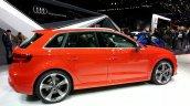 2015 Audi RS3 Sportback rear three quarters left at the 2015 Geneva Motor Show