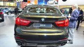 2015 BMW X6 rear at the 2014 Paris Motor Show