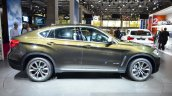 2015 BMW X6 side at the 2014 Paris Motor Show