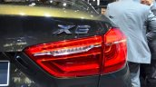 2015 BMW X6 taillight at the 2014 Paris Motor Show