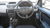 2015 Dacia Duster for UK steering wheel press image