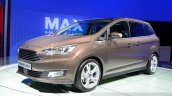 2015 Ford Grand C-Max frong left three quarter at the 2014 Paris Motor Show