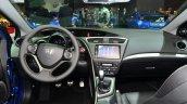2015 Honda Civic facelift dashboard at the 2014 Paris Motor Show