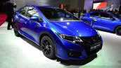 2015 Honda Civic facelift front three quarters at the 2014 Paris Motor Show