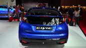 2015 Honda Civic facelift rear at the 2014 Paris Motor Show