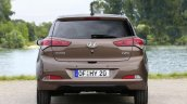 2015 Hyundai i20 Europe press shot rear