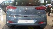 2015 Hyundai i20 European spec rear live image