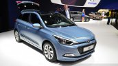 2015 Hyundai i20 front three quarters at the 2014 Paris Motor Show