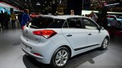 2015 Hyundai i20 rear three quarters 2:2 at the 2014 Paris Motor Show