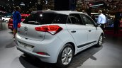 2015 Hyundai i20 rear three quarters view at the 2014 Paris Motor Show