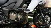 2015 Kawasaki Versys 1000 engine compartment at the INTERMOT 2014