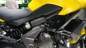 2015 Kawasaki Versys 650 engine compartment at the INTERMOT 2014