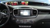 2015 Kia Sorento audio system at the 2014 Paris Motor Show
