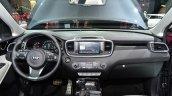 2015 Kia Sorento dashboard at the 2014 Paris Motor Show