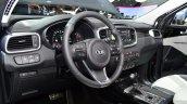 2015 Kia Sorento interior at the 2014 Paris Motor Show