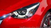 2015 Mazda2 at the 2014 Indonesia International Motor Show headlight
