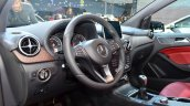 2015 Mercedes B Class dashboard at the 2014 Paris Motor Show