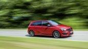 2015 Mercedes B Class facelift press shots profile
