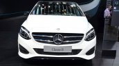 2015 Mercedes B Class front at the 2014 Paris Motor Show