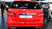 2015 Mercedes B Class rear at the 2014 Paris Motor Show