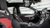 2015 Mercedes C 63 AMG S front seats press image