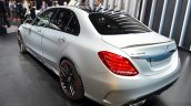 2015 Mercedes C 63 AMG rear left three quarter at 2014 Paris Motor Show