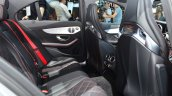 2015 Mercedes C 63 AMG rear seat at 2014 Paris Motor Show