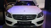 2015 Mercedes C Class at the 2014 Philippines Motor Show front