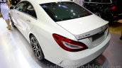 2015 Mercedes CLS rear three quarters left at the 2014 Indonesia International Motor Show