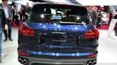 2015 Porsche Cayenne rear at the Paris Motor Show 2014