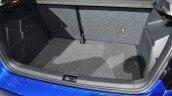 2015 Skoda Fabia boot at the 2014 Paris Motor Show