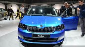 2015 Skoda Fabia front at the 2014 Paris Motor Show