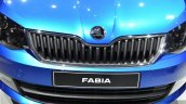 2015 Skoda Fabia grille at the 2014 Paris Motor Show